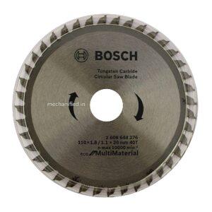 "Bosch 4"" TCT Circular Saw for Wood & Aluminium (2608644276)"