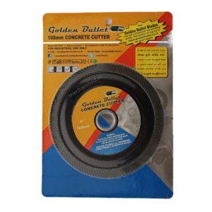 "Golden Bullet Black Concrete Cutter Disc 108mm (4"")"