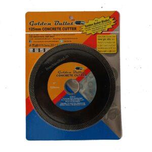 "Golden Bullet Black Concrete Cutter Disc 125mm (5"")"