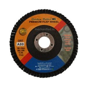 "Golden Bullet Premium Flap Disc 4"" (All Grits)"