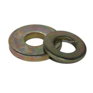 Flat Washer 4.6 Grade Yellow Zinc Coated